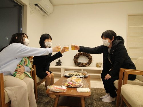 A様邸 祝!!お茶会!!