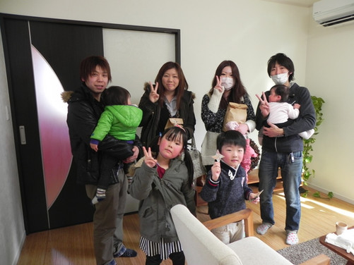 N様邸  完成見学会 初日!!