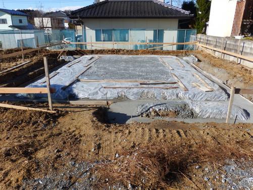 FM様邸 新築工事 基礎工事~建て方
