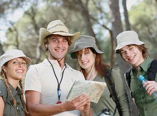 Familien-Wanderung