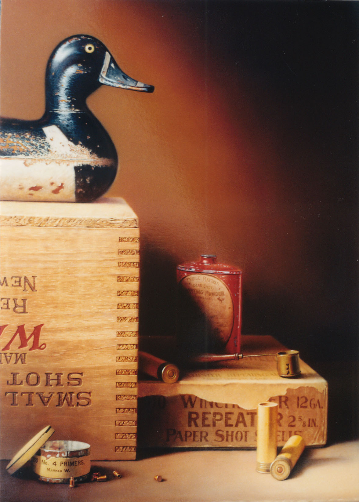 Ringneck Decoy Still Life
