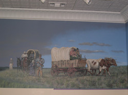 Odell Covered Wagons