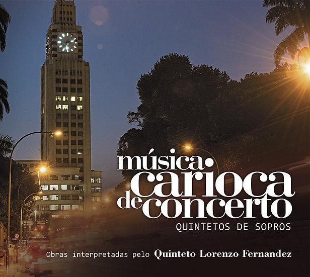 CD Música Carioca de Concerto