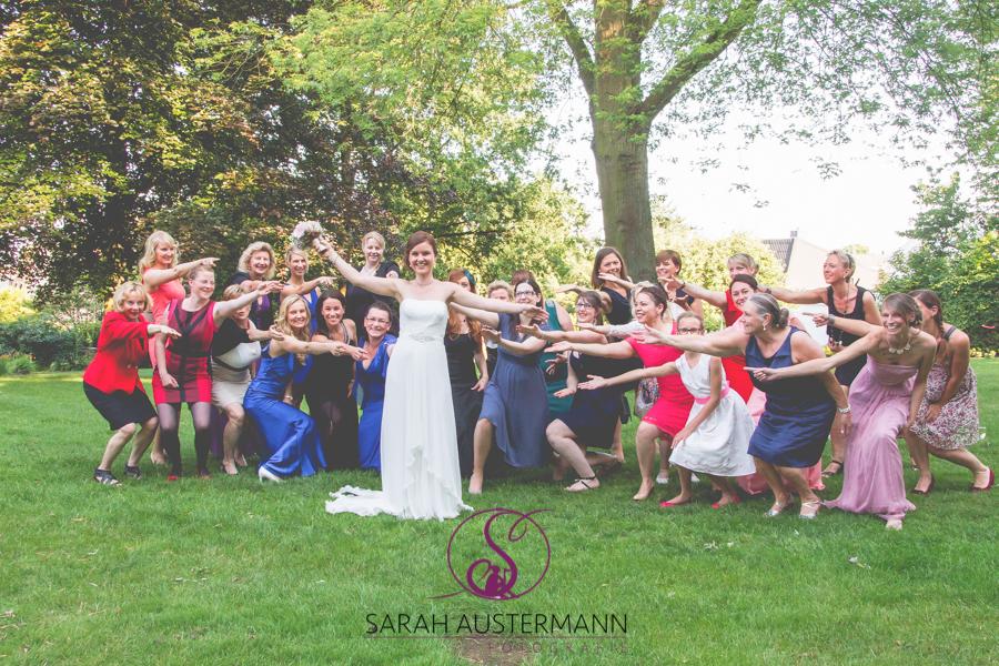 Hochzeitsfotografie Gruppenfotos