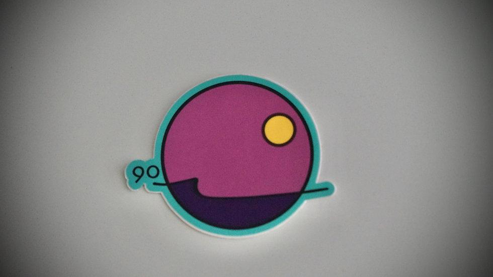 90Waves Sticker