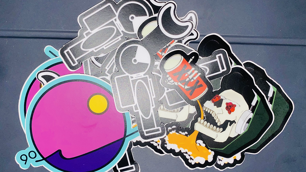 Gunstarr Sticker Pack