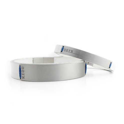 Bracelet | Stainless Steel and Leather