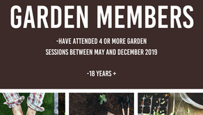 Garden AGM Coming Up...