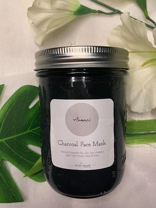 Anansi - Charcoal Face Mask