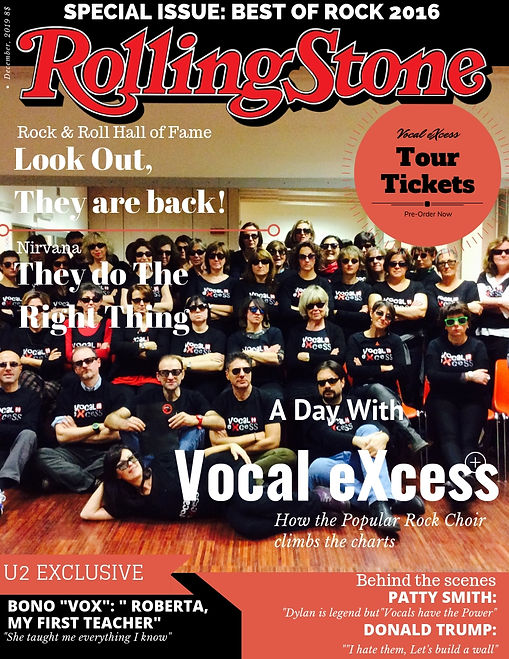 Rolling Stone special edition: Vocal eXcess