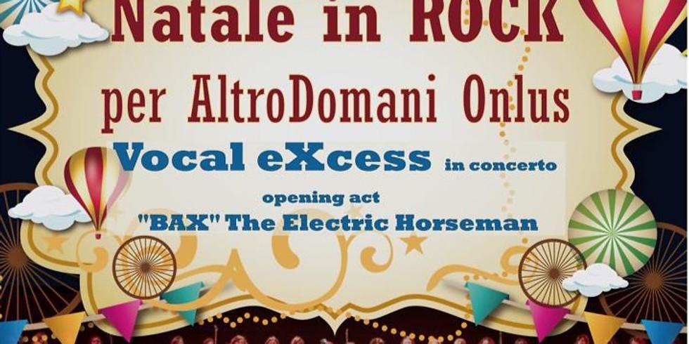 Natale in Rock: 20 dic 2019 live @ Teatro le Serre di Grugliasco