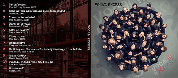 Vocal eXcess CD Cover