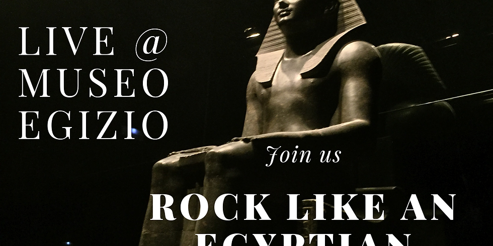 """Rock like an Egyptian -  Vocal eXcess live @ Museo Egizio per l'evento """"Io  Sono il Benvenuto"""""""