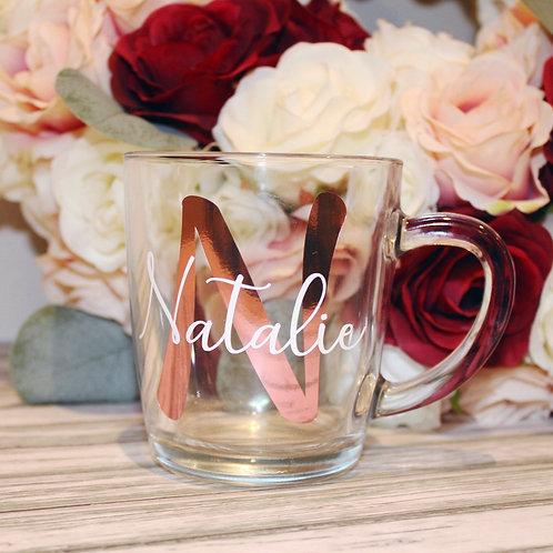 Initial & Name Style Mug