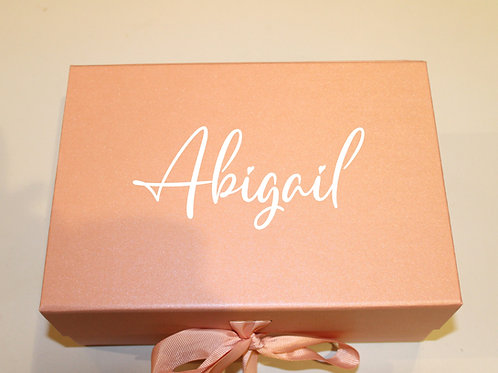 Small Personalised Gift Box