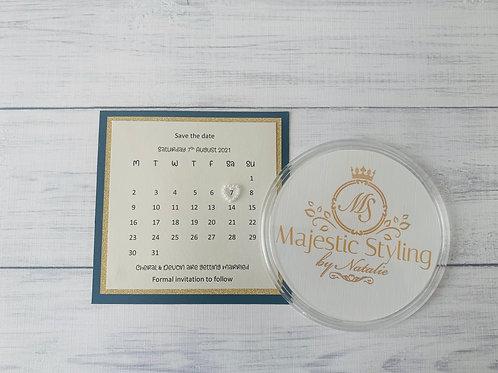 Glitter Pearl Calendar