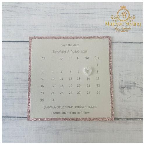 Glitter Calendar