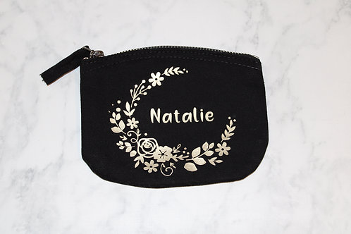Organic Cotton Purse - Floral