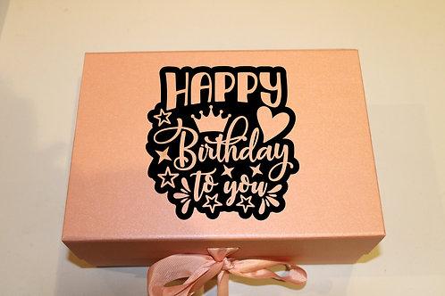 Small Birthday Gift Box (Crown)