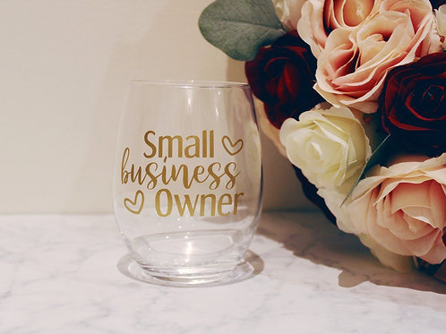 Small Business Owner Tumbler