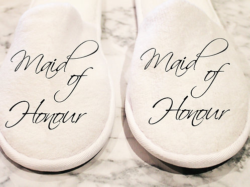Closed Toe Slippers - Role
