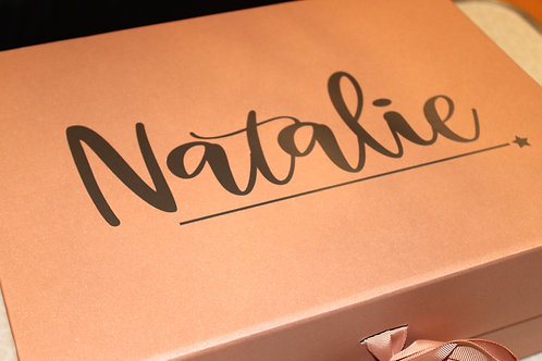 Large Personalised Gift Box