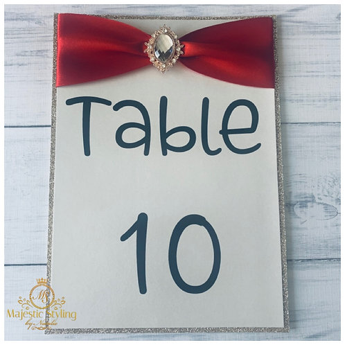 Table Number 7