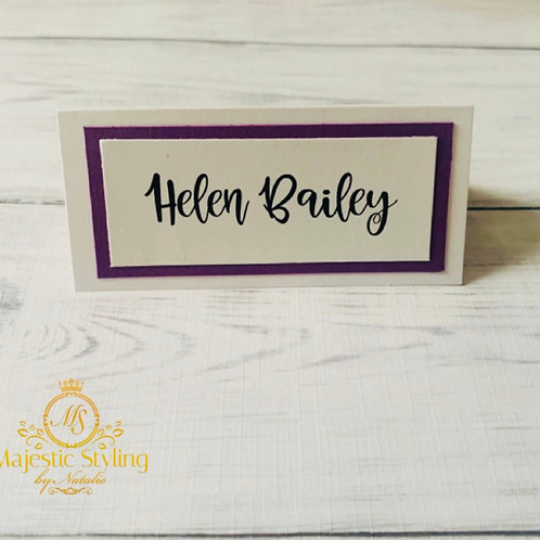 Small Place Card