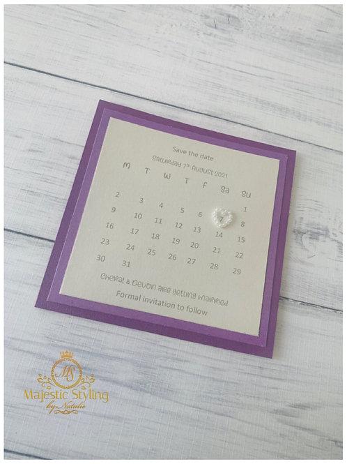 Double Pearl Calendar
