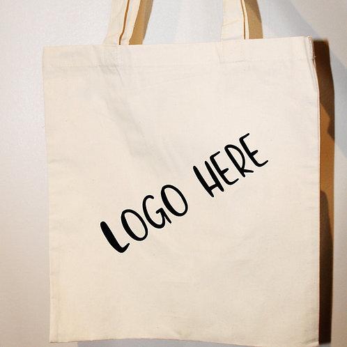 Cotton Tote Bag - Logo