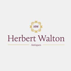 Logo Deisgn for Herbert Walton Antiques by Frillie Design