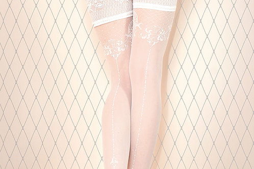 Ballerina 433 Hold Ups White