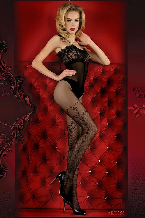 Ballerina 358 Tights Nero (Black)