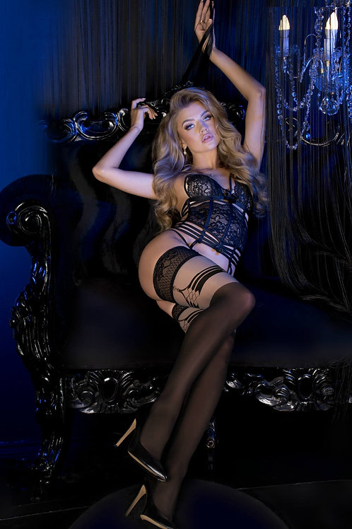 Ballerina 496 Black/Skin