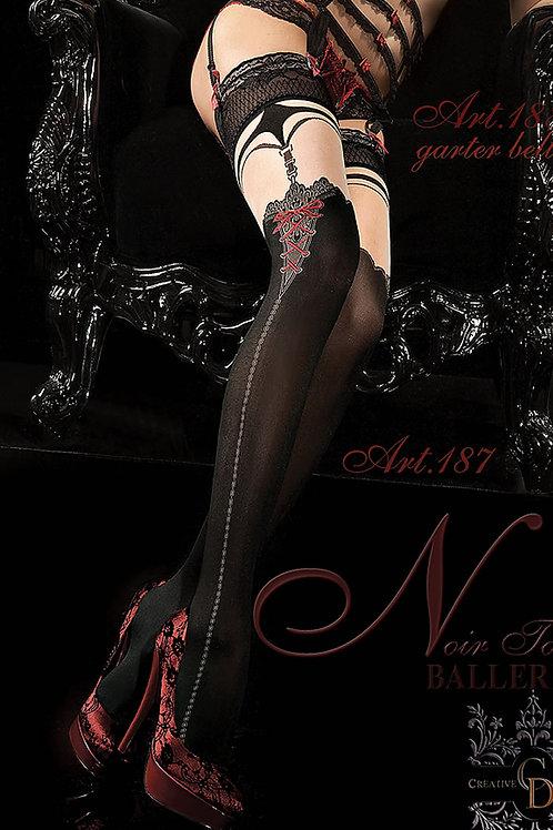 Ballerina 187 Hold Up Nero (Black)