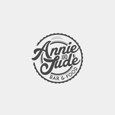 Logo Design for Annie & Jude by Frillie Design