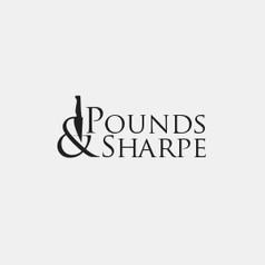Logo Design for Pounds & Sharpe by Frillie Design