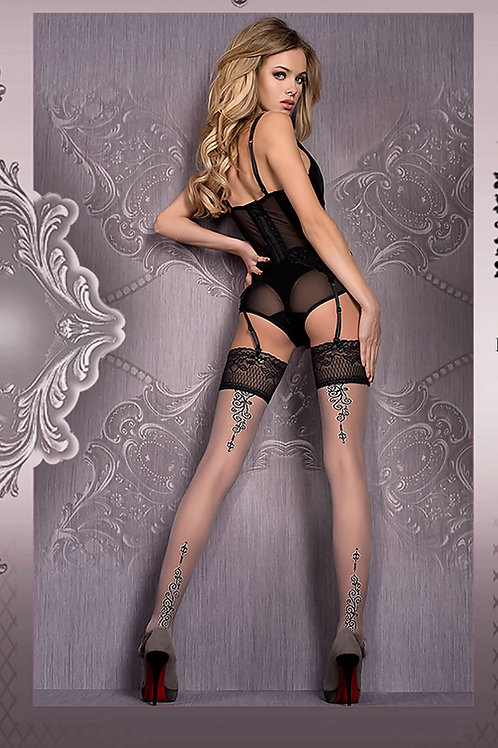 Ballerina 420 Hold Ups Nero (Black)