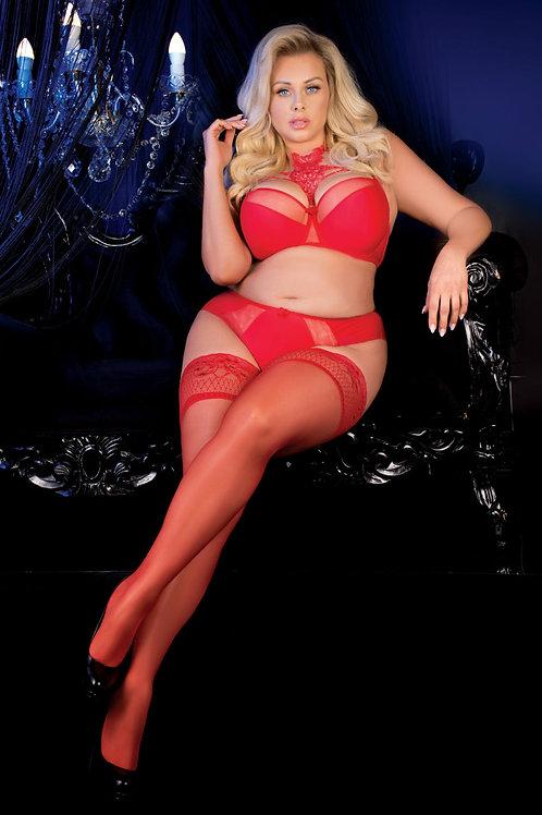 Ballerina 487 Red PLUS SIZES
