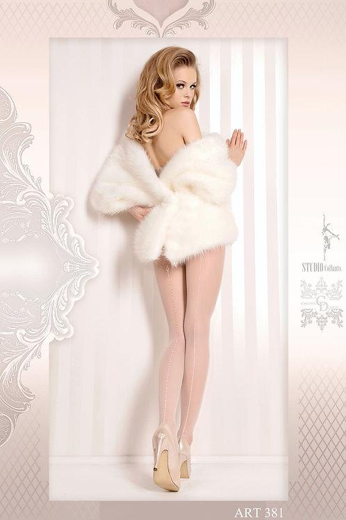 Ballerina 381 Tights Bianco (White)
