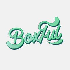 Logo Design for Boxful by Frillie Design