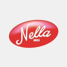 Logo Design for Nella Nails by Frillie Design
