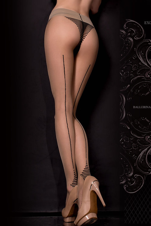 Ballerina 311 Tights Nero (Black) / Skin