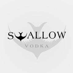 Logo Design for Swallow Vodka by Frillie Design