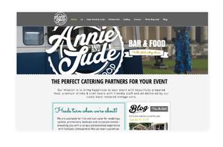 Annie & Jude, Bar 7 Food - Branding & Website design