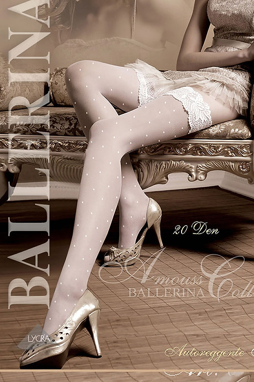 Ballerina 006 Hold Up Bianco (White)
