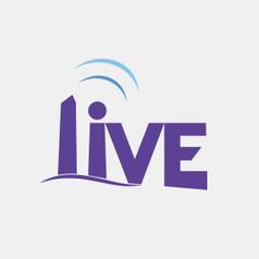 Logo Design for LIVE by Frillie Design