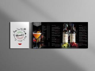 Murati's New A5 Drinks menu