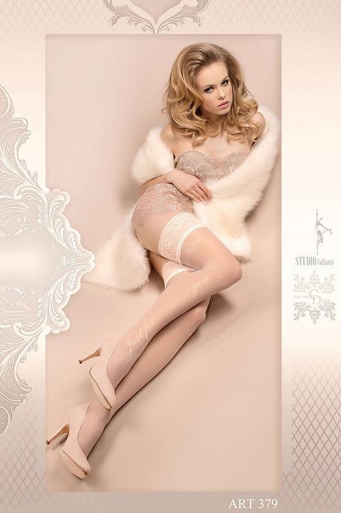 Ballerina 379 Hold Ups Avorio (Ivory)