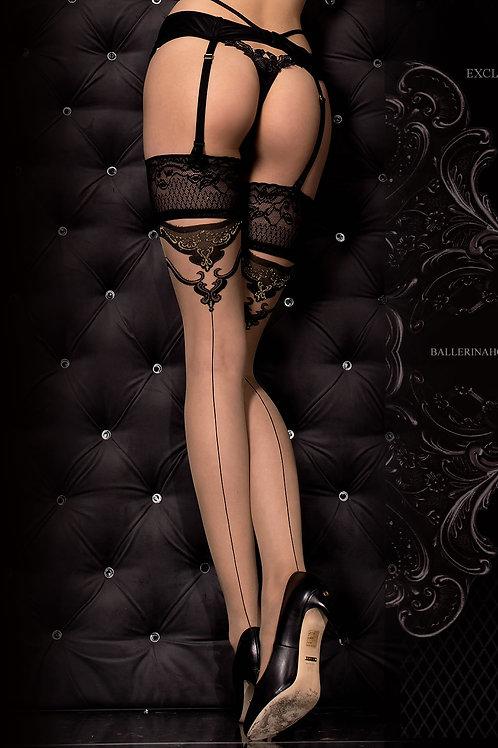 Ballerina 314B Hold Ups Nero (Black)